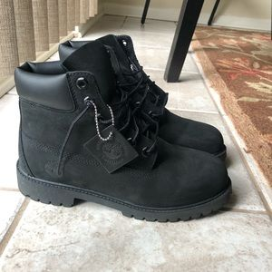 All Black Timbs